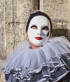 Mask with a Teardrop — Stock Photo