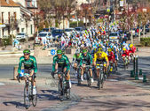 Paris Nice 2013 Cylcing Rrace- Stage 1 in Nemours — Stock Photo