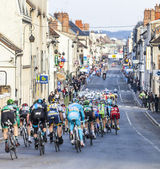 Paris Nice 2013 Cycling: Stage 1 in Nemours, France — Stock Photo