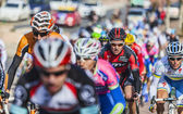 The Peloton- Paris Nice 2013 in Nemours — Stock Photo