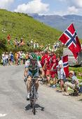 Il ciclista jonathan hivert — Foto Stock