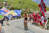 The Cyclist Romain Sicard — Foto Stock