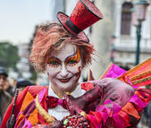 Maquillage de carnaval — Photo
