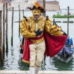 Venetian Costume — Stock Photo