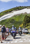 Police Bikes of  Tour of France — Stock Photo