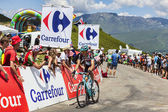 COL DE VAL LOURON-AZET, FRANCE, JULY 07, 2013: Laurent Didier — Stock Photo