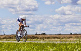The Cyclist Brice Feillu — Stock Photo