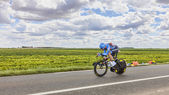 The Cyclist Christian Vande Velde — Stock Photo