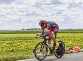 The Cyclist Marcus Burghardt — Stock Photo