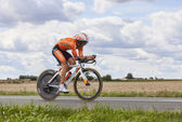Cyclist Gorka Izagirre — Stock Photo