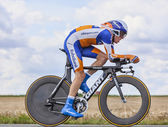 Cyclist Steven Kruijswijk — Stock Photo