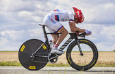 The Cyclist Denis Menchov — Stock Photo