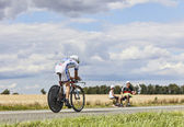 The Cyclist Thibaut Pinot — Stock Photo