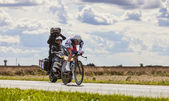 The Cyclist Van Den Broeck Jurgen — Stock Photo