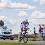 The Cyclist Mathieu Ladagnous — Stock Photo