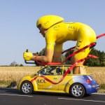 Traditional Mascot of Publicity Caravan — Stock Photo #50293041