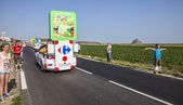 Carrefour Truck — Stock Photo