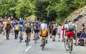 Audience of Le Tour de France — Stock Photo