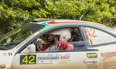 Waiting for the Start Transylvania Rally 2014 — Stock Photo