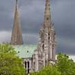 Towers of Chartres — Stock Photo #7171657