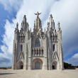 The Temple del Sagrat Cor (Church of the Sacred Heart) - Stock Photo