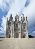 The Temple del Sagrat Cor (Church of the Sacred Heart) — Stock Photo
