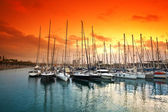 Port vell. Barcelona. — Stock Photo