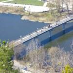 Bridge across the river — Stock Photo #2030211
