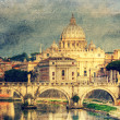 St. Peter's cathedral in Rome, Italy — Stock Photo