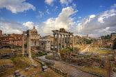 Arkitekturen av rom. italien. — Stockfoto