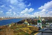 Famoso pechersk lavra monastero a kiev, ucraina — Foto Stock