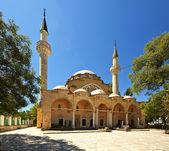 Juma-τζαμί τζαμί. η ευπατόρια. κριμαία. — Φωτογραφία Αρχείου
