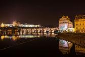 Evening view of Prague. Czech Republic — Stock Photo