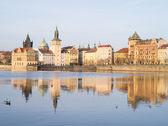 Pohled na prahu, česká republika — Stock fotografie