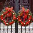 Christmas decorative Wreath — Stock Photo