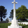 WWII Cemetery Cross — Stock Photo