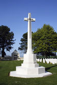 WWII Cemetery Cross — Stock Photo