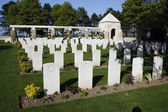 British Cemetery — Stock Photo