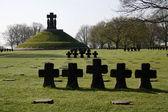 La Cambe Cemetery — Stock Photo
