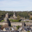 Chateau de Fougeres — Stock Photo
