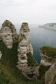 Etretat Spires — Stock Photo