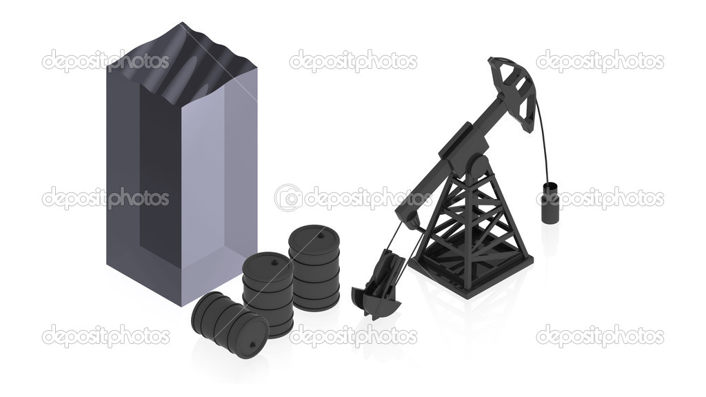 3D image of a simple object for use in presentations, manuals, design, etc. — Stock Photo #12601487