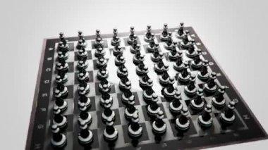 チェスのアニメーション — ストックビデオ