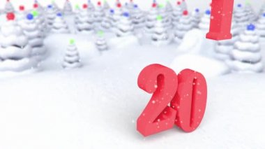 Xmass animation 22 — Stock Video