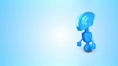 Robot animated 2 — Stock Video