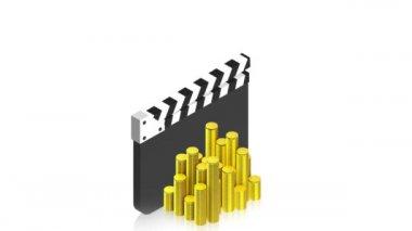 Isometric animations 19 — Stock Video