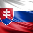 Flag of Slovakia — Stock Photo #7381949