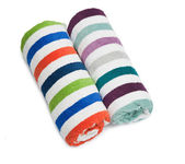 A towel rolled — Stock Photo