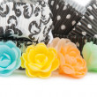 Stock Photo: Colorful cupcake wrappers