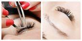 Eyelashes — Stock Photo